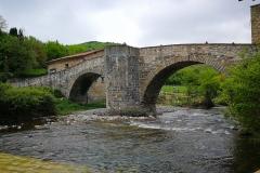 Burguete Puente de la rabia. Vista general